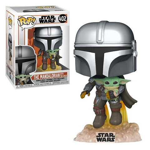 Funko Pop! Star Wars - Mandalorian #402 - Mando Flying With Jet