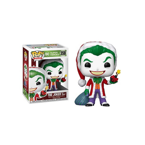 Funko Pop! Heroes - DC Holiday #358 - Joker (Santa)