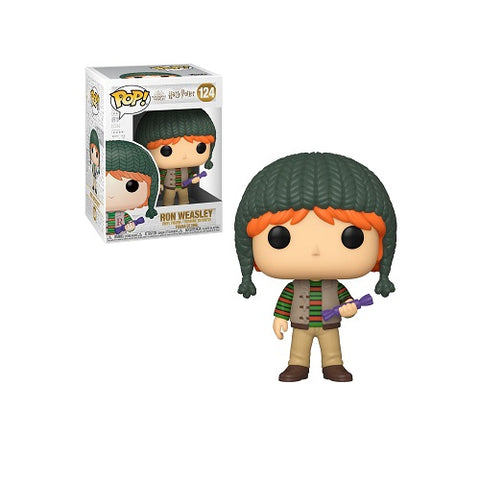Funko Pop! Movies #124 Harry Potter Holiday - Ron Weasley