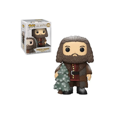 Funko Pop! Movies #126 Harry Potter Holiday - Hagrid (6 inch)
