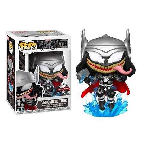 Funko Pop! Marvel – Marvel Venom #703 – Thor (Exclusive)