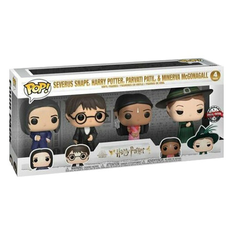 Funko Pop! Harry Potter Yule 4 Pack