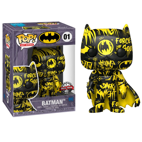Funko Pop! Heroes – DC #01 – Batman #1 (Artist's Series) With Case (Exclusive)