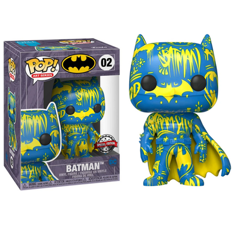 Funko Pop! Heroes – DC #02 – Batman #2 (Artist's Series) With Case (Exclusive)