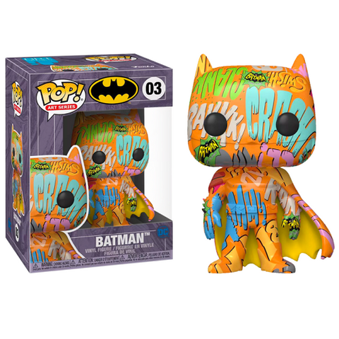 Funko Pop! Heroes – DC #03 – Batman #3 (Artist's Series) With Case (Exclusive)