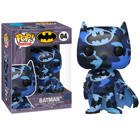 Funko Pop! Heroes – DC #04 – Batman #4 (Artist's Series) With Case (Exclusive)