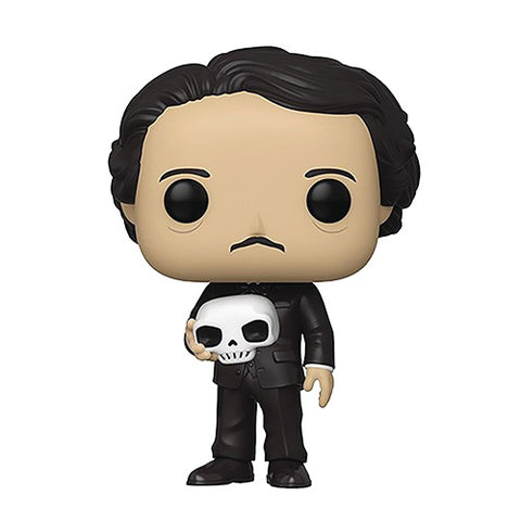 Funko POP! - Icons 21- Edgar Allan Poe (With Skull) (Exclusive)