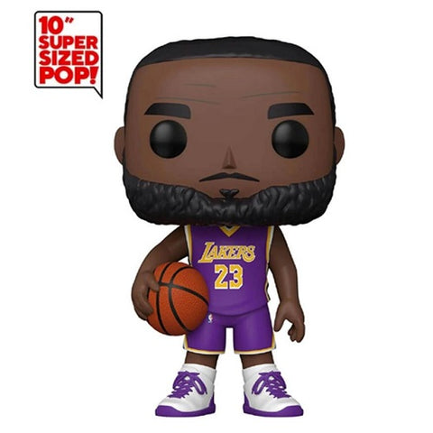 Funko Pop! Sports: NBA #98 – Lakers – LeBron James (Purple Jersey) (10 Inch)