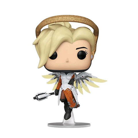 Funko Pop! Games - Blizzard 30th 304 - Mercy (Diamond Glitter) (Exclusive)