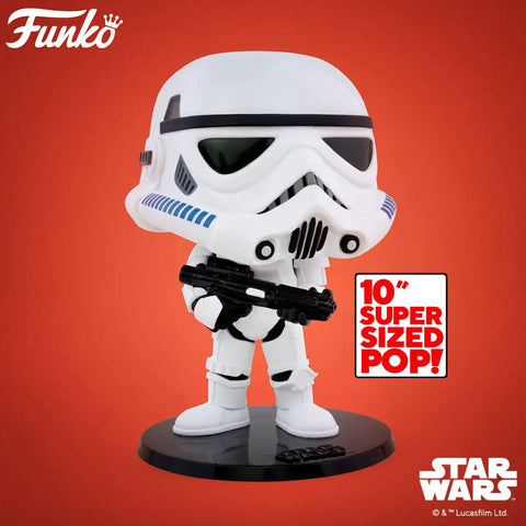 Funko Pop! Star Wars - Star Wars: Empire Strikes Back 40th Anniversary #391 - Stormtrooper (10 inch) (Exclusive)