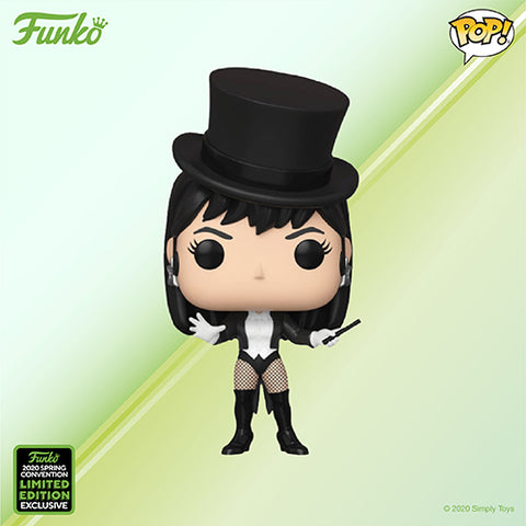 Funko Pop! Animation - DC Super Heroes #316 - Zatanna (ECCC 2020 Convention Exclusive) - Simply Toys