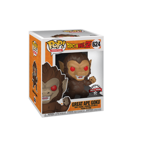 Funko Pop! Animation - Dragonball Z #624 - Great Ape Goku (6 inch) (Exclusive) - Simply Toys