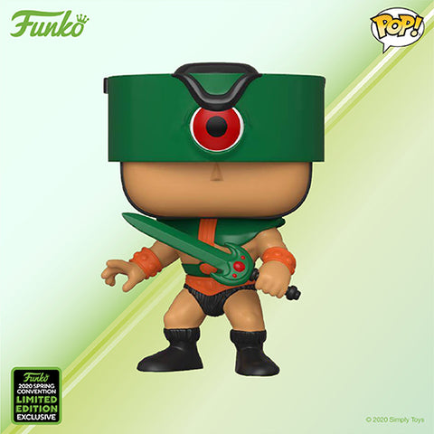 Funko Pop! Animation - Masters of the Universe #951 - Tri-Klops (ECCC 2020 Convention Exclusive) - Simply Toys