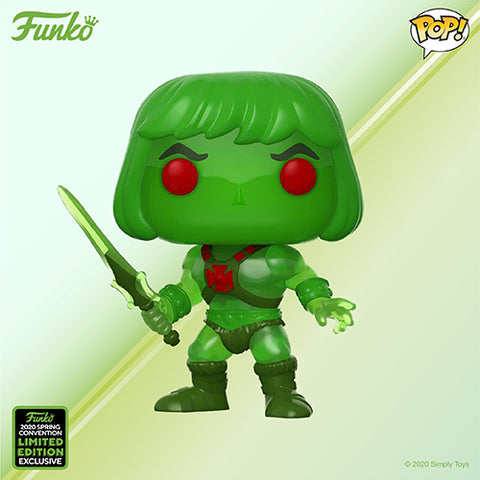 Funko Pop! Animation - Masters of the Universe #952 - He-Man (Slime Pit) (ECCC 2020 Convention Exclusive) - Simply Toys