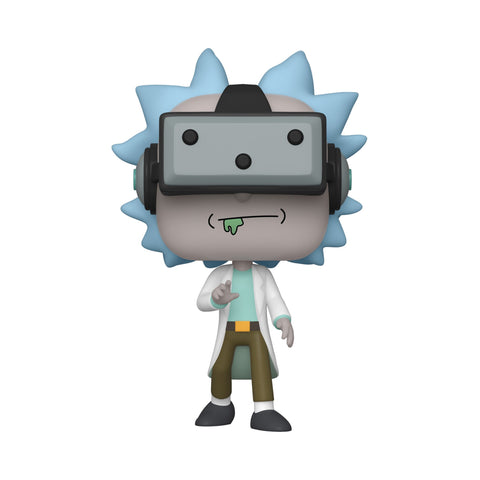Funko Pop! Animation - Rick and Morty #741 – Gamer Rick (Exclusive) - Simply Toys