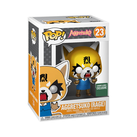 Funko Pop! Animation – Aggretsuko #23 – Aggretsuko (Rage) (Metallic) (Exclusive) - Simply Toys