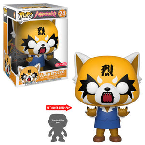 Funko Pop! Animation – Aggretsuko #24 – Aggretsuko (Rage) (10 inch) (Exclusive) - Simply Toys