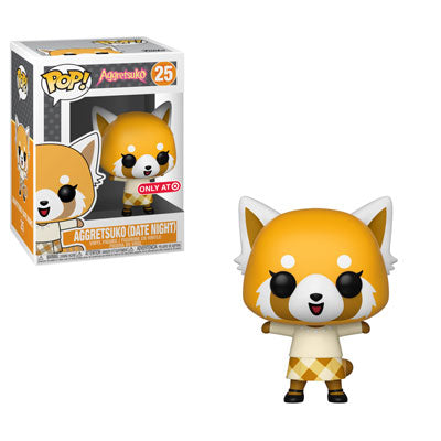 Funko Pop! Animation – Aggretsuko #25 – Aggretsuko (Date Night) (Exclusive) - Simply Toys