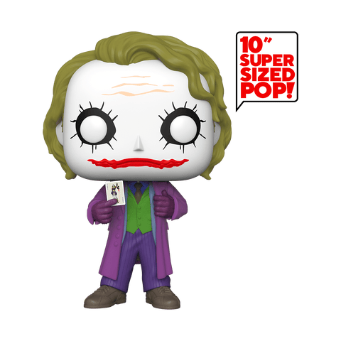 Funko Pop! DC - The Dark Knight Trilogy #334 - The Joker (10 inch) - Simply Toys