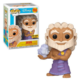 Funko Pop! Disney - Hercules #593 - Zeus (holding Cloud Pegasus) (Exclusive)
