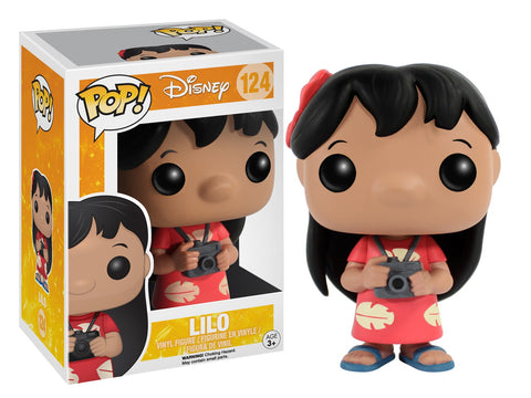 Funko Pop! Disney - Lilo & Stitch #124 - Lilo - Simply Toys