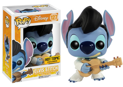 Funko Pop! Disney - Lilo & Stitch #127 - Elvis Stitch (Exclusive) *VAULTED* - Simply Toys