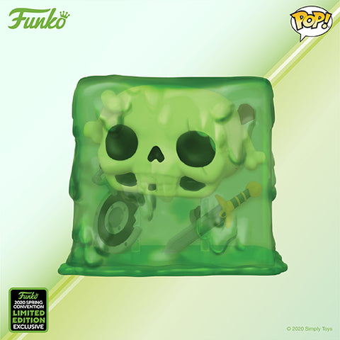 Funko Pop! Games - Dungeons & Dragons #576 - Gelatinous Cube (ECCC 2020 Convention Exclusive) - Simply Toys