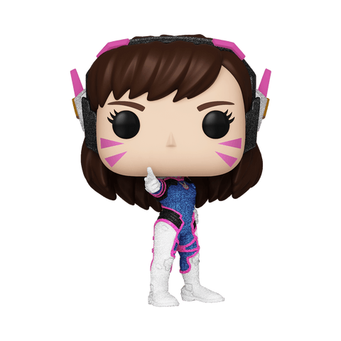 Funko Pop! Games - Overwatch #491 - D.VA (Diamond Glitter) (Exclusive) - Simply Toys