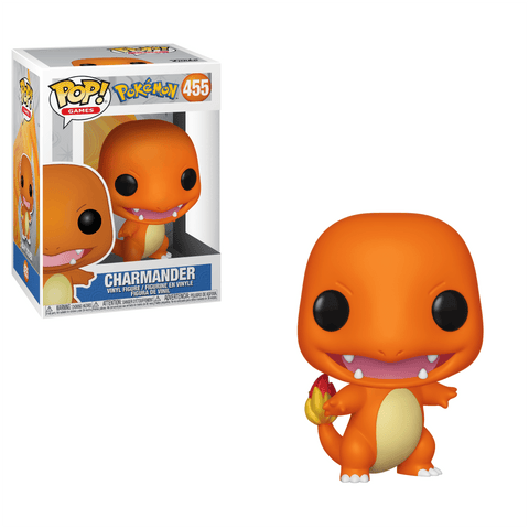 Funko Pop! Games - Pokemon #455 - Charmander - Simply Toys