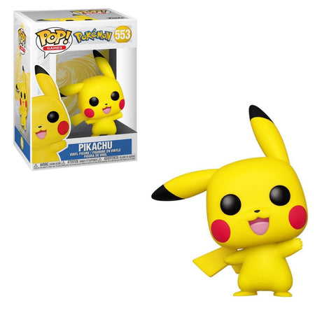 Funko Pop! Games - Pokemon #553 - Pikachu (Waving) - Simply Toys