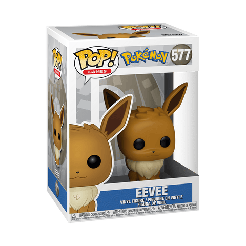 Funko Pop! Games - Pokemon #577 - Eevee - Simply Toys