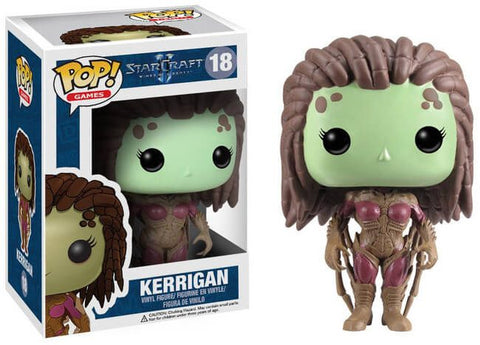 Funko Pop! Games - Starcraft II #18 - Kerrigan *VAULTED* - Simply Toys