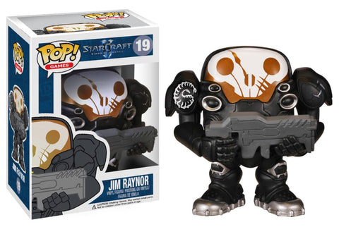 Funko Pop! Games - Starcraft II #19 - Jim Raynor *VAULTED* - Simply Toys