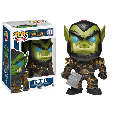 Funko Pop! Games - World of Warcraft #31 - Thrall *VAULTED* - Simply Toys