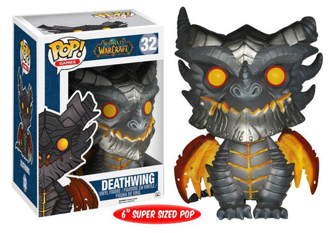 Funko Pop! Games - World of Warcraft #32 - Deathwing (6 inch) *VAULTED* - Simply Toys
