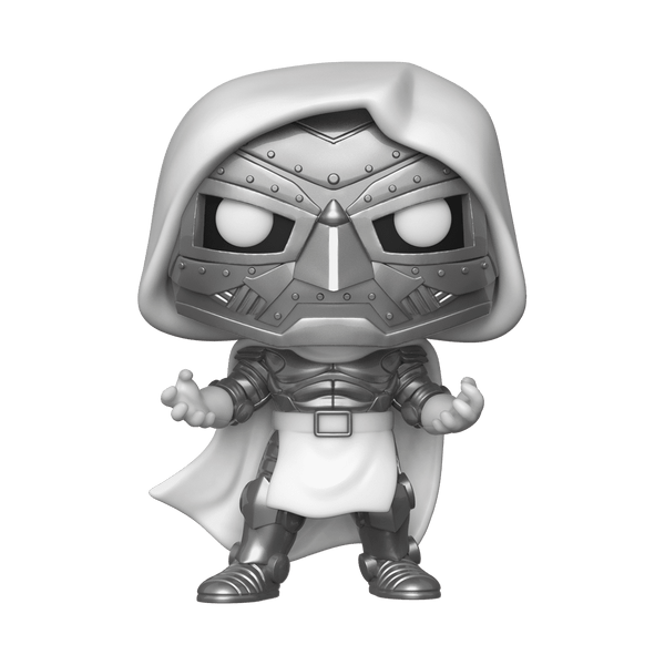 Funko Pop! MARVEL - Fantastic Four #591 - Dr. Doom (ECCC 2020 Convention Exclusive) - Simply Toys