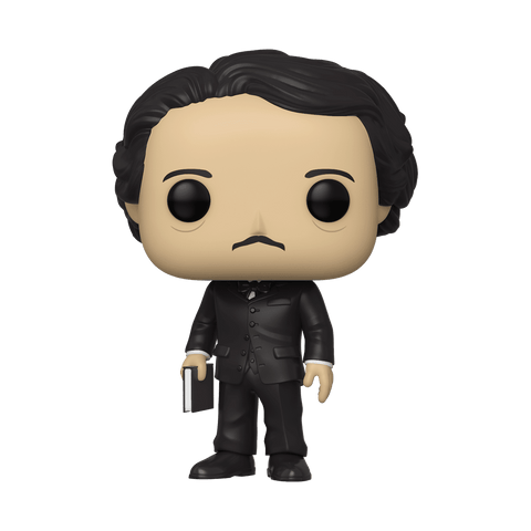 Funko Pop! Icons - Edgar Allan Poe #22 - Edgar Allan Poe (with Book) (Fall Convention 2019 Exclusive) - Simply Toys