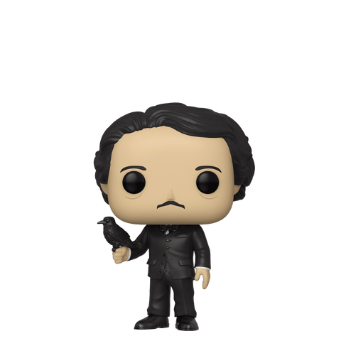 Funko Pop! Icons - Edgar Allan Poe #22 - Edgar Allan Poe (with Raven) (Exclusive) - Simply Toys