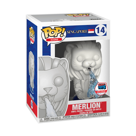 Funko Pop! Icons - Singapore #14 - Merlion (Simply Toys Asia Exclusive) - Simply Toys