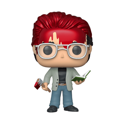 Funko Pop! Icons - Stephen King #44 - Stephen King (with Axe and Book) (Exclusive) - Simply Toys