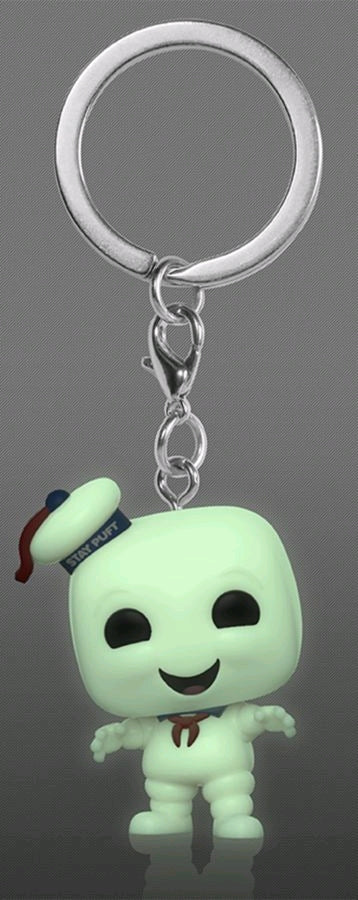 Funko Pop! Keychain - Ghostbusters - Stay Puft (Glow in the Dark) (Exclusive)
