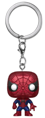 Funko Pop! Keychain - Spider-Man (Metallic) (Exclusive)