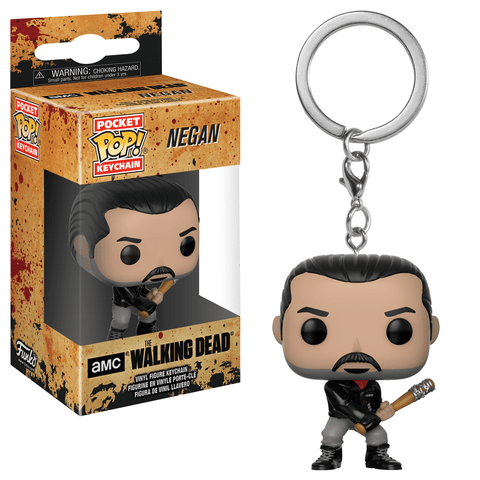 Funko Pop! Keychain - The Walking Dead - Negan - Simply Toys