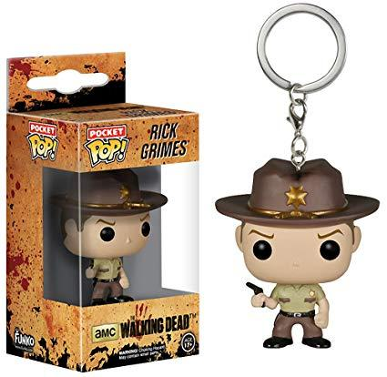 Funko Pop! Keychain - The Walking Dead - Rick Grimes - Simply Toys