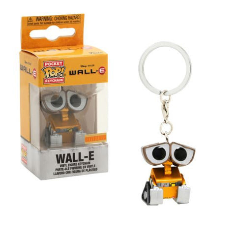 Funko Pop! Keychain - Wall-E - Wall-E (Metallic) (Exclusive) - Simply Toys