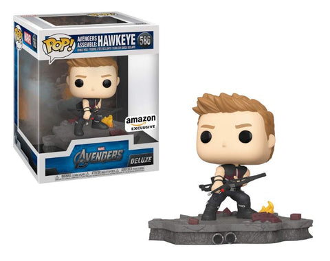 Funko Pop! MARVEL - Avengers #586 - Avengers Assemble: Hawkeye (Exclusive)
