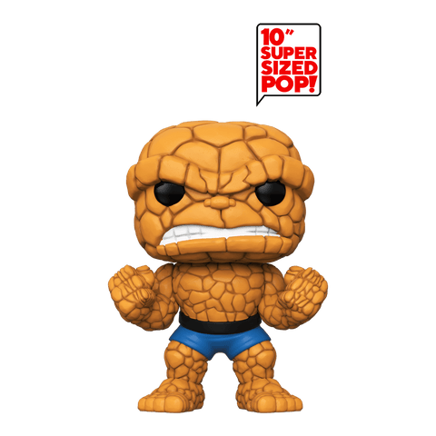 Funko Pop! MARVEL - Fantastic Four #570 - The Thing (10 inch) (Exclusive) - Simply Toys