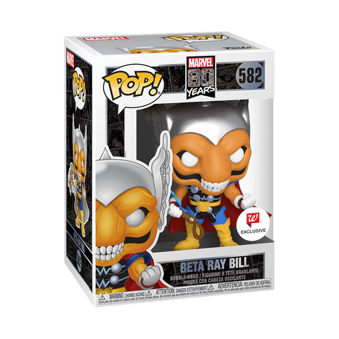 Funko Pop! MARVEL - MARVEL 80 Years #582 - Beta Ray Bill (Exclusive) - Simply Toys
