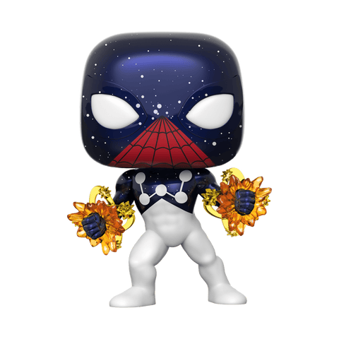 Funko Pop! MARVEL - MARVEL #614 - Spider-Man (Captain Universe) (Exclusive) - Simply Toys