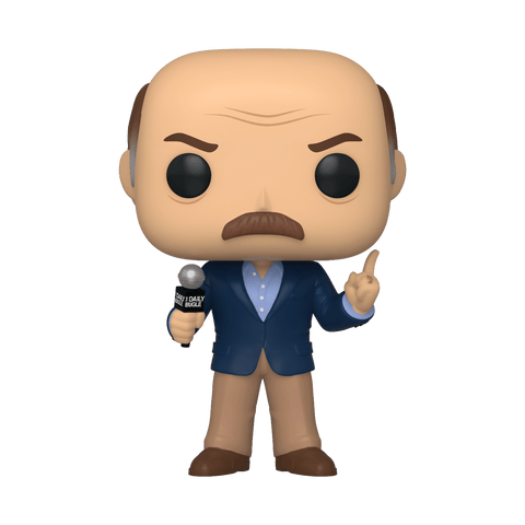 Funko Pop! MARVEL - Spider-Man: Far From Home #621 - J. Jonah Jameson (Exclusive) - Simply Toys